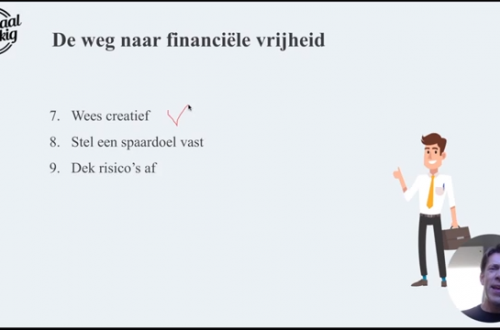 De weg naar financiële vrijheid deel 2